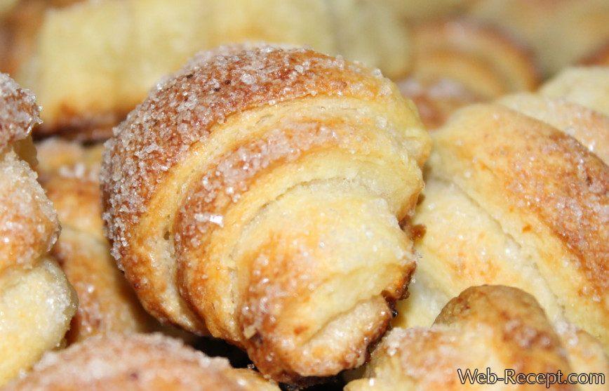 Творожно-сметанное печенье фото