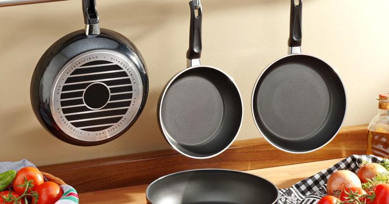 Сковородки с разным покрытием