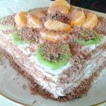 Весенний торт без выпечки