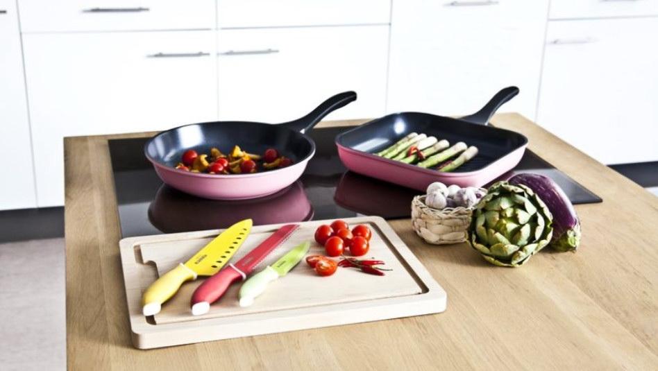 Различные виды сковородок, фото