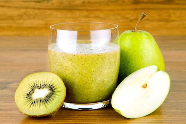 Яблочный смузи фото