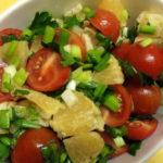 Фитнес-салат с апельсинами