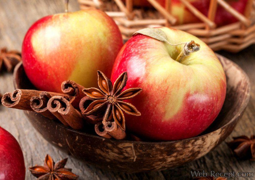 Цукаты из яблок фото