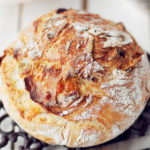 Хлеб с толстой и хрустящей корочкой