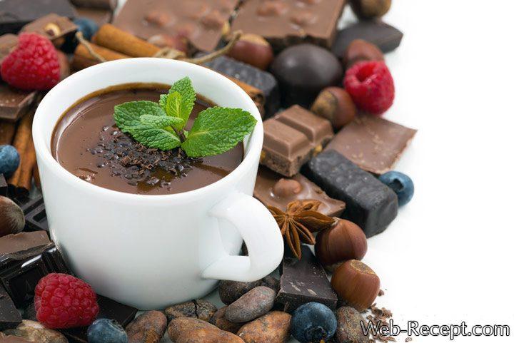 горячий шоколад состав