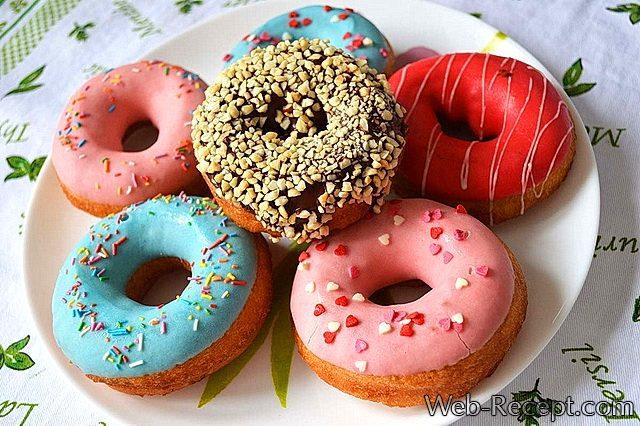 Как сделать пончики в домашних условиях