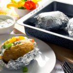 Как запекать овощи, завернутые в пищевую фольгу