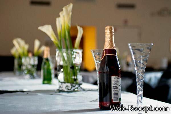 Алкоголь на свадьбе в банкетном зале