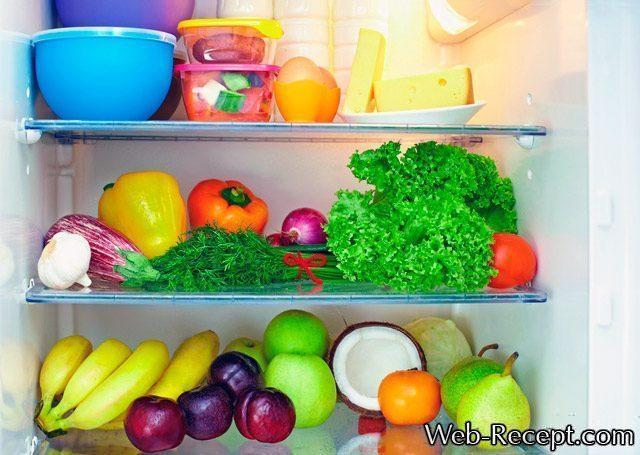 Как расставить продукты в холодильнике - основные правила