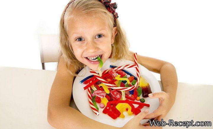 Сколько сладкого можно есть детям в день