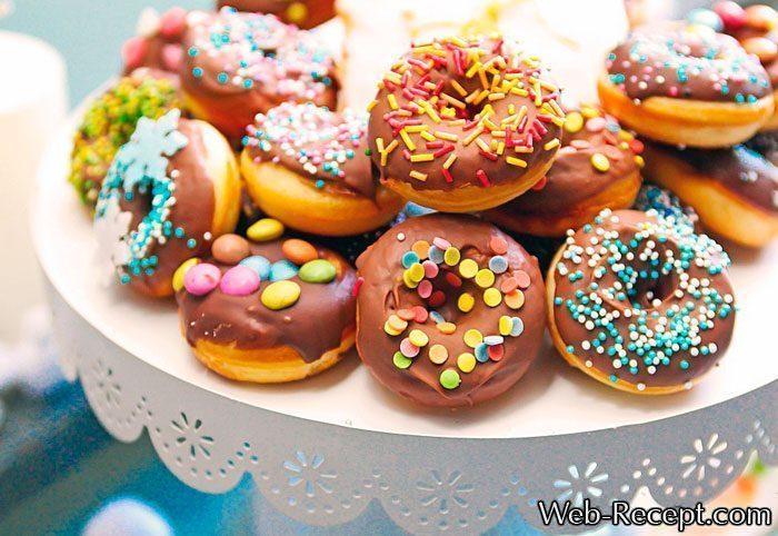 Как приготовить донатсы-пончики