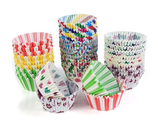 Бумажные формы для выпечки кексов и маффинов