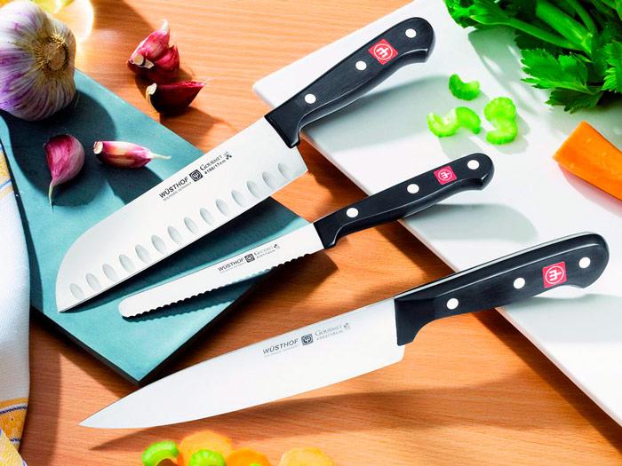 Выбор кухонного ножа на что обратить внимание при покупке